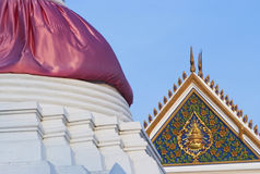 Detail of temple in Thailand Stock Photos
