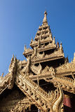 Detail of temple tower, Nyaung-U, Burma Stock Photography