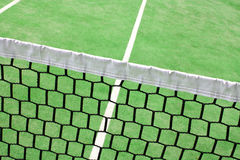 Detail on a tennis court Royalty Free Stock Images