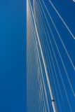 Detail of the Terenez bridge Royalty Free Stock Images