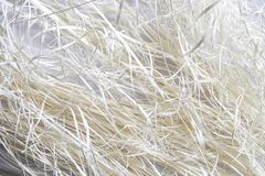 The detail texture of shredding paper royalty free stock photography