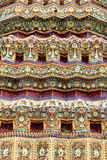 Detail from the Thai temple Royalty Free Stock Photos