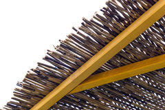 Detail thatched roof Royalty Free Stock Photography