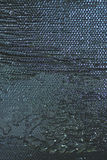 Detail of thick oil paint structure, glossy metallic look Royalty Free Stock Images