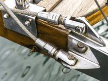 Detail. Thisi s a sailboat detail Stock Photo
