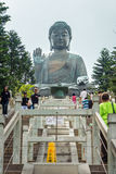 The detail of Tian Tan Buddha Royalty Free Stock Image