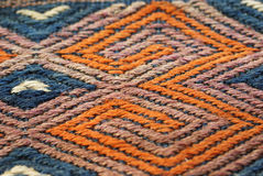 Detail, tightly woven knots Royalty Free Stock Images