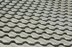 Detail of a tiled Roof Royalty Free Stock Photography