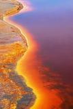 Detail Tinto River, Huelva, Spain Stock Images