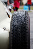 Detail of tire royalty free stock photo