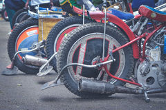 Detail of tires Stock Image