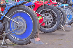 Detail of tires Royalty Free Stock Photos
