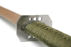 Detail to grip of machete Royalty Free Stock Photo