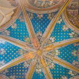 Detail of the Toledo Cathedral. Detail of the interior of the Toledo Cathedral Royalty Free Stock Photo