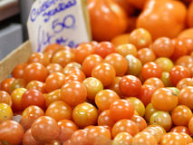 detail of tomato at market Stock Photography