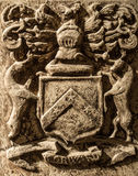 Detail of tomb in Jedburgh abbey in Scotland. Detail of tomb in Jedburgh abbey Royalty Free Stock Images