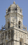 Detail of top of the Church in Hieronymites Monastery Stock Images
