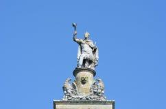 Detail at top of column Royalty Free Stock Image