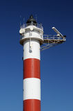Detail of the top of a lighthouse Stock Photography
