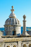 Detail of Torre de Belem Royalty Free Stock Image