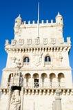 Detail of Torre de Belem Royalty Free Stock Images
