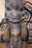 Detail of Totem. Stock Photo