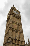 Detail of the tower Big Ben Stock Photo