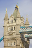 Detail of the Tower Bridge Royalty Free Stock Photos