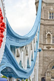 Detail of Tower Bridge Royalty Free Stock Photo