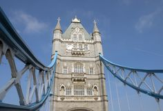 Detail of Tower Bridge, London Royalty Free Stock Photos