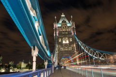 Detail of Tower Bridge in London Royalty Free Stock Photos