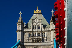 Detail of Tower Bridge in the spring Stock Images