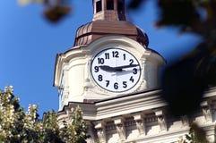 Detail tower clock in Prague Royalty Free Stock Photos