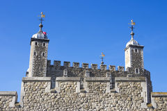 Detail of the Tower of London Stock Image