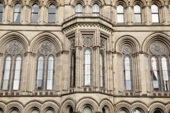 Detail on Town Hall, Manchester Stock Photos
