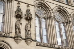 Detail on Town Hall, Manchester Stock Photo