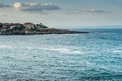 Detail of the town of Sozopol Royalty Free Stock Images