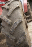 Detail Of Tractor Tyre Stock Image