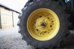 Detail Of Tractor Tyre Royalty Free Stock Image