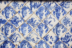 Detail of tradition floor in Chinese style palace of Wehart Cham Royalty Free Stock Images