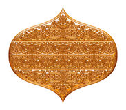 Detail from the traditional arabic jewellery on isolated white background. Stock Photography