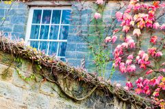 Detail of traditional English house Royalty Free Stock Photography