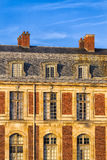 Detail of Traditional Facade in Paris royalty free stock photo
