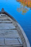 Detail of a traditional fishing boat Stock Images