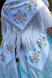 Detail of traditional German folk costume Royalty Free Stock Photos