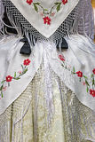 Detail of traditional German folk costume Royalty Free Stock Photo