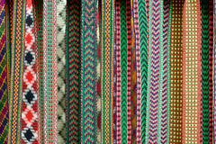 Detail of a traditional Lithuanian weave. Details of a traditional Lithuanian weave Stock Photos