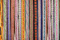 Detail of a traditional Lithuanian weave Stock Photography