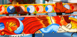 Detail of traditional sicilian cart Stock Images