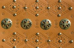 Detail of traditional slovak belt Royalty Free Stock Images